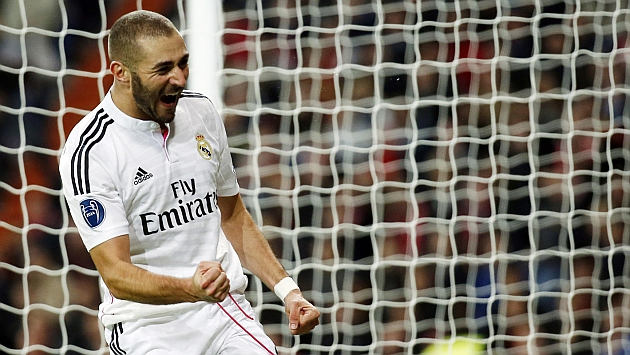 Benzema nets Player of the Month gong