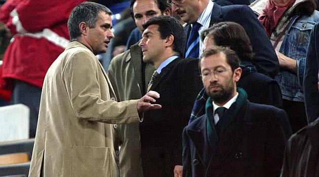 Mourinho y Laporta, en la 2004-2005 | MARCA