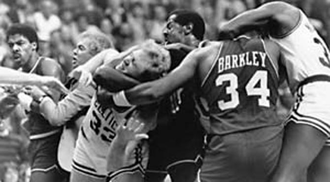Los vídeos de las 10 grandes peleas de la historia de la NBA