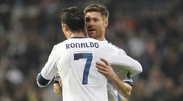Xabi apologises to Ronaldo
