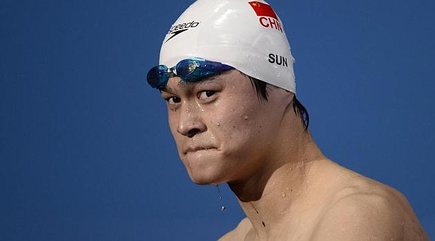 Sun Yang da positivo