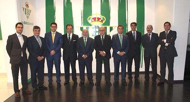 Nuevo Consejo de Administración del Betis | Foto: Real Betis