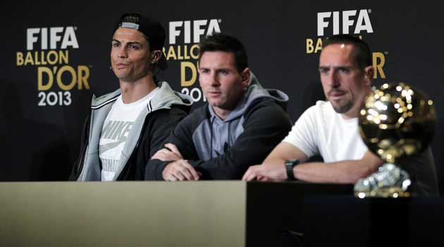 Ribery: The Ballon d'Or is all about politics