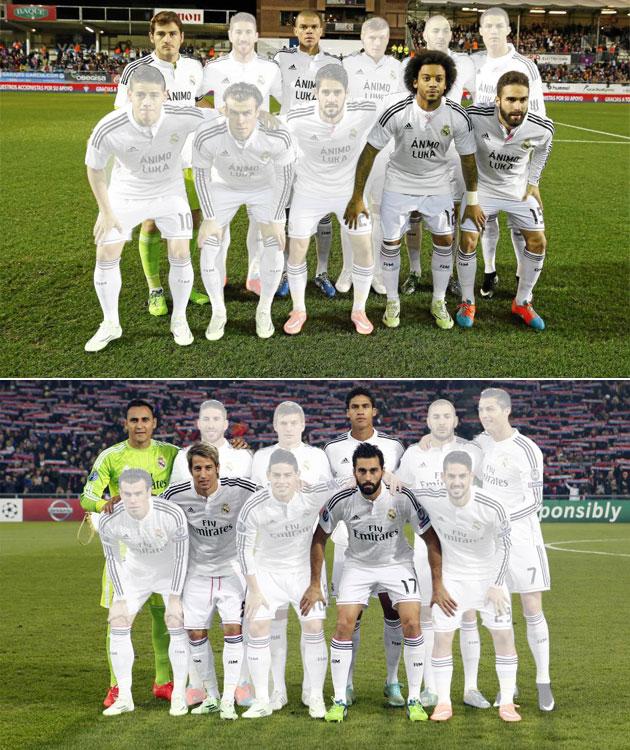 A half untouchable Real Madrid