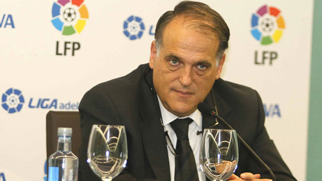 Tebas wants to eradicate ultras from Spanish football