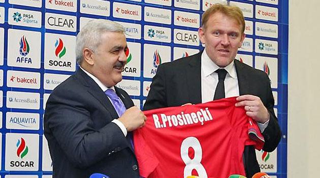 Prosinecki dirigirá a Azerbaiyán