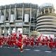 Madrid bate el r�cord Guinness de Pap� Noeles corriendo