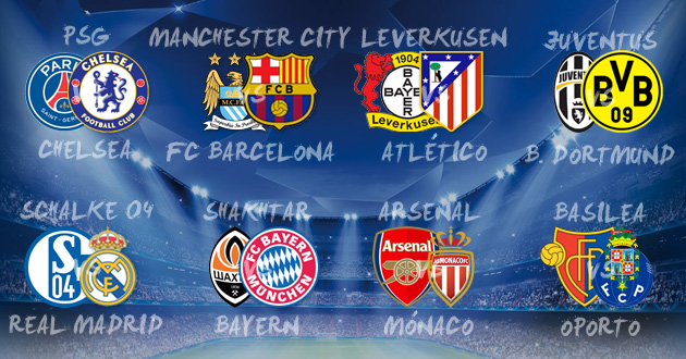 Kind Champions League draw for Madrid duo as Barça face another ...