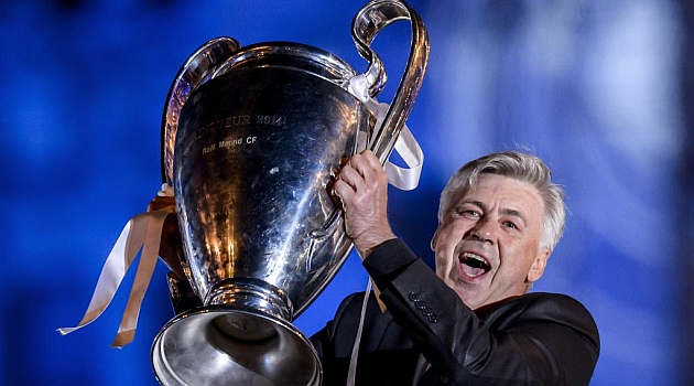 Ancelotti set for world domination