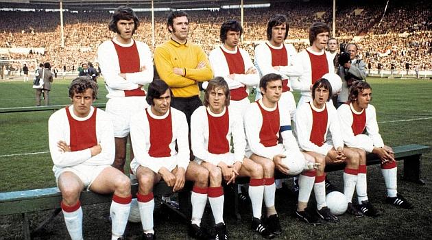 El Ajax de Cruyff ganó 26 partidos oficiales seguidos