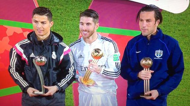 Sergio Ramos, Balón de Oro del Mundial de Clubes