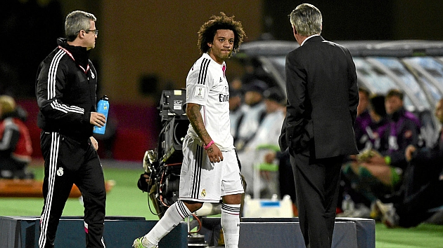 Marcelo to start 2015 on the sidelines