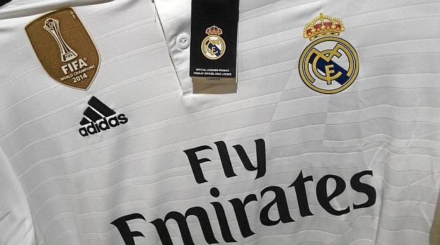 Operación posible Sala oración  Locura por la nueva camiseta del Real Madrid con la insignia de campeón del  mundo - MARCA.com