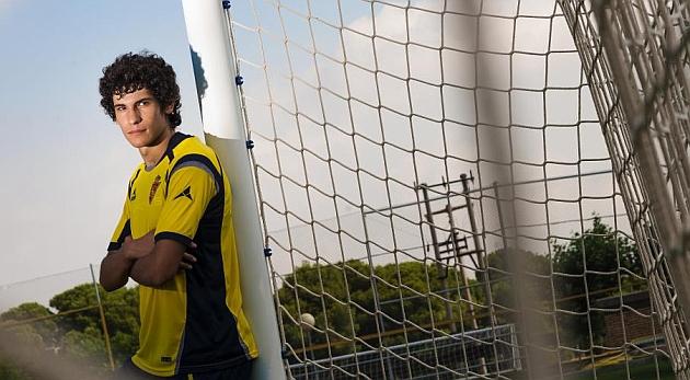 Jesús Vallejo, posa para Marca en la Ciudad deportiva / Toni Galán (Marca)