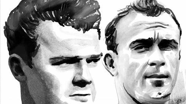 Los pioneros del clásico Madrid-Barça