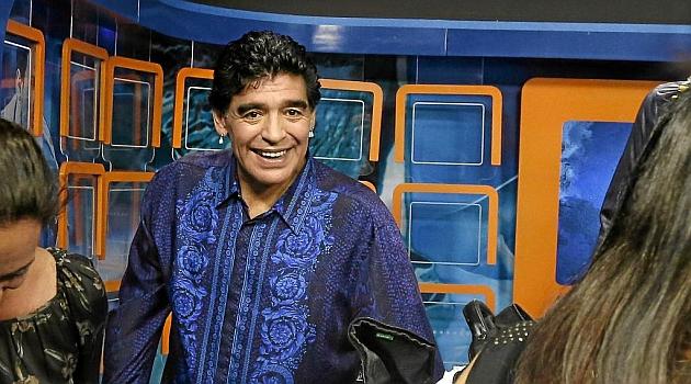 Maradona revoluciona Cuba
