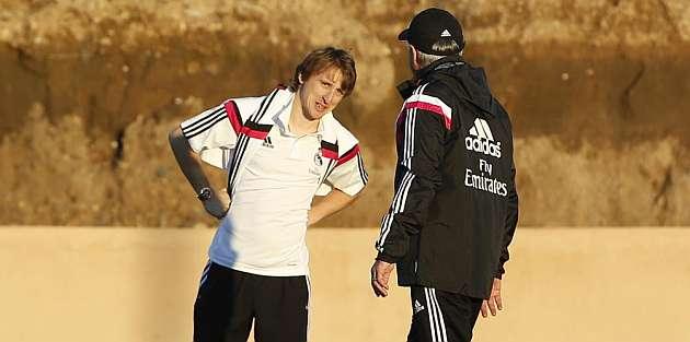 Modric close to comeback