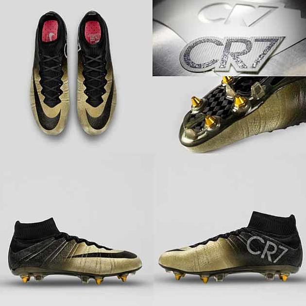 7dca5317e0a38 Las nuevas botas de oro de CR7 - MARCA.com