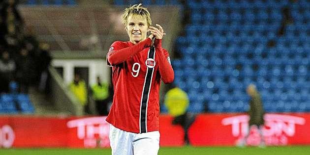 Ödegaard Bernabéu bound