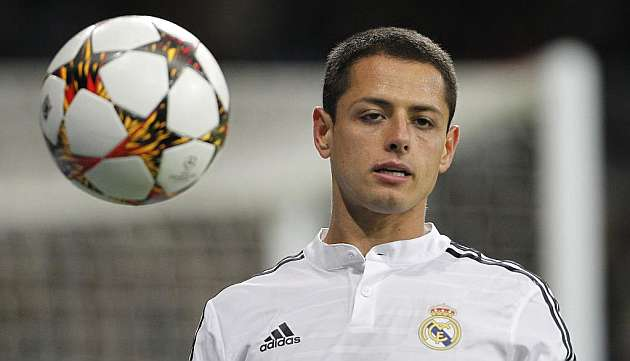 Javier 'Chicharito' Hern�ndez, the invisible man at Real Madrid