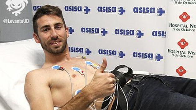 José Mari pasa reconocimiento médico con el Levante / @LevanteUD