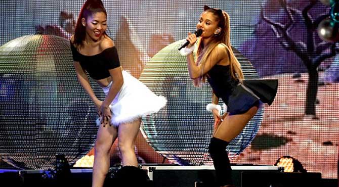 Así calienta la NBA la musa del All Star: Ariana Grande será la estrella invitada
