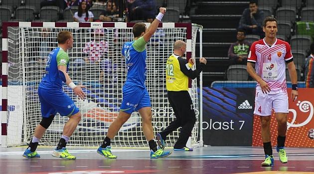 Eslovenia espera rival en cuartos tras derrotar a Macedonia