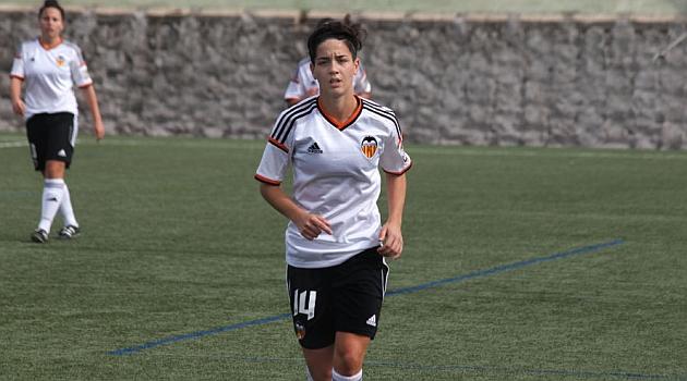 Carol Férez durante un partido esta temporada / Juan Catalá (VCFF)