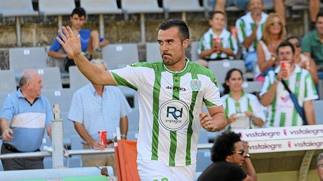 López Garai en un partido con el Córdoba / LARREA( MARCA)