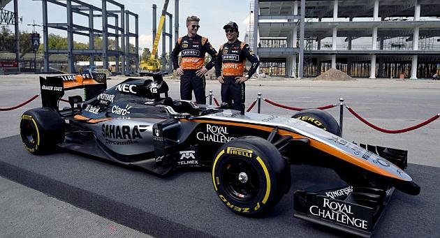 Force India renuncia a los tests de Jerez