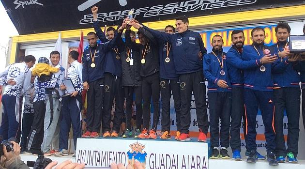 Guadalajara consigue el oro en masculino y Santutxu, plata en femenino