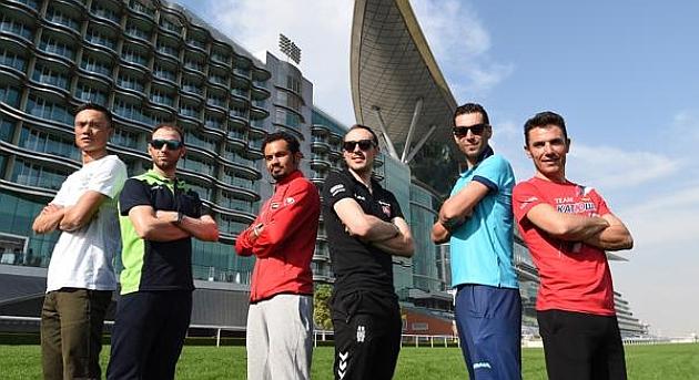 Algunas estrellas del cartel: Xu Gang, Alejandro Valverde, Badr Mohamed Ahmed Mohamed Alhammadi, John Degenkolb, Vincenzo Nibali y Purito Rodríguez.
