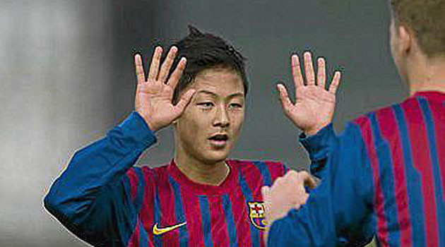 Seung-Woo Lee, Asia's Messi