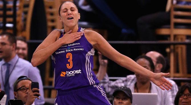 Taurasi renuncia a la WNBA por más de un millón de dólares... para poder descansar