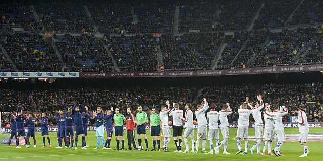 The Camp Nou empties out - MARCA.com (English version) 882de64da85