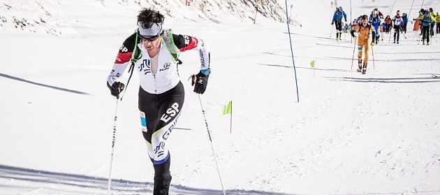 Kilian Jornet y Laura Orgué, campeones del mundo