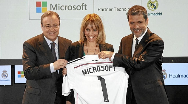 Microsoft and Real Madrid join forces