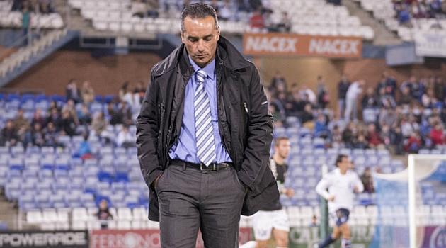 José Luis Oltra, destituido como entrenador del Recreativo