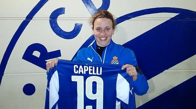 El Espanyol firma a Martina Capelli