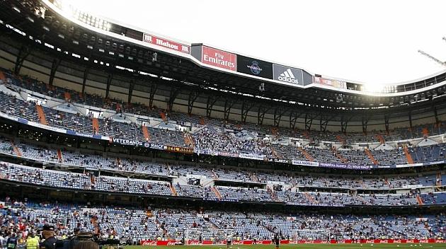 Gradas del Santiago Bernabéu / ANGEL RIVERO