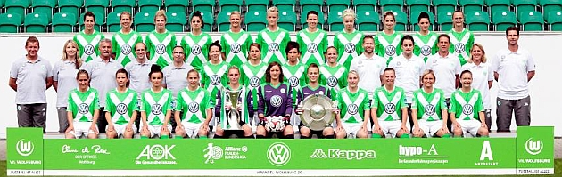 Platilla actual del Wolfsburgo, vigente campeón de Europa / Wolfsburg