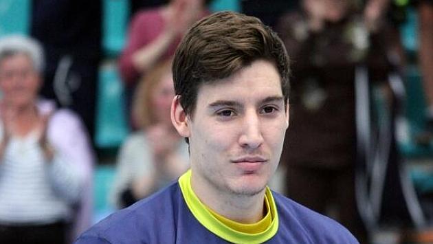 Eloy Krook, jugador del Frigoríficos del Morrazo. Foto: Facebook del club