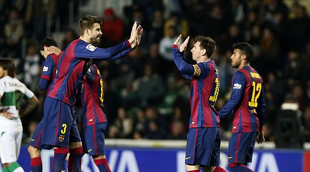 Luis Enrique calls the shots more than Messi