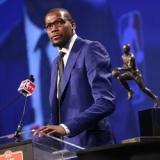 Durant carga contra la prensa: Los jugadores deberíamos ser los que votaramos el MVP