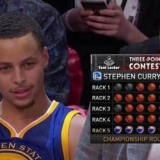 Recital histórico de Curry en Triples: 27 puntos con 13 consecutivos