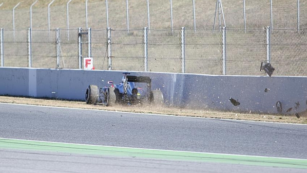 Alonso OK and conscious