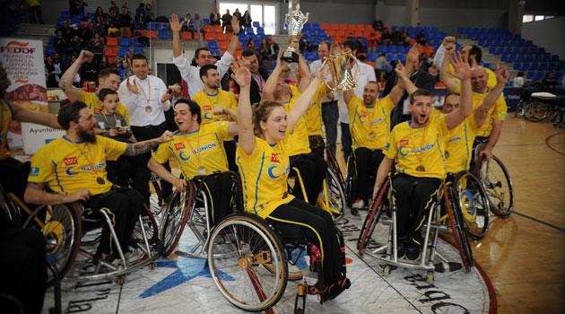 El CD Ilunion, campeón  de la Copa del Rey