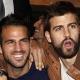 Cesc, Piqu� y Messi se quitan penas en el Casino de Barcelona