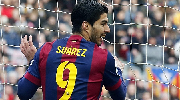 """Luis Suárez: """"Disfruto de jugar con los que siempre quise jugar"""""""