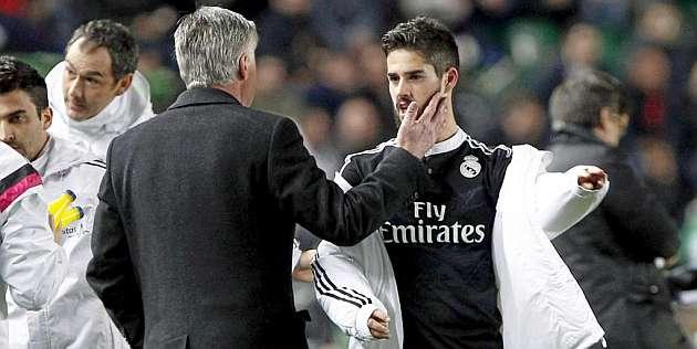 Isco, Ancelotti's go-to guy